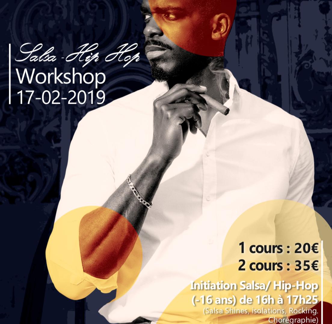 Salsa Hip Hop Workshop By Rodrigue LINO (Bruxelles)