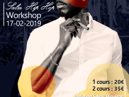 Salsa Hip Hop Workshop By Rodrigue LINO (Bruxelles)